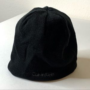 3/$25 Calvin Klein Black & Grey Winter Beanie Hat
